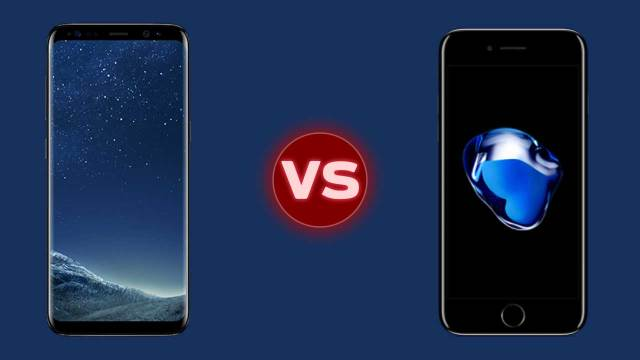 Samsung galaxy s8 specs vs iphone 7 plus