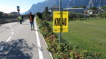 km 40 der eigentlich schon km41 war!