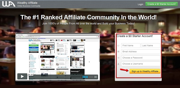 Wealthy Affiliate: how to make money blogging for beginners