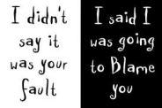 Infidelity & Affair Help: Fault & Blame