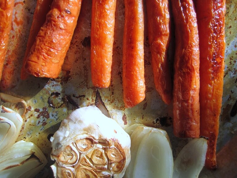 """Roasted Carrot Awesomeness. The """"Dip"""""""