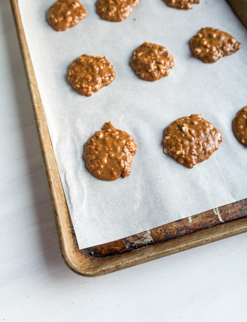 soft molasses cookies ready for baking