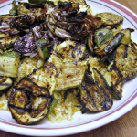 Grilled Vegetables and Fried Quinoa | www.infinebalance.com