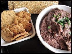 lentil and olive dip