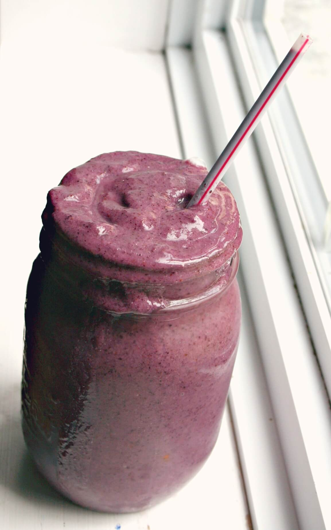 Blueberry and Kiwi Smoothie