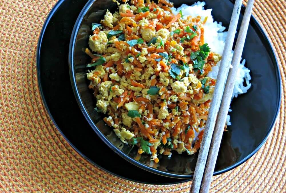 Carrot and Tofu Stir-Fry
