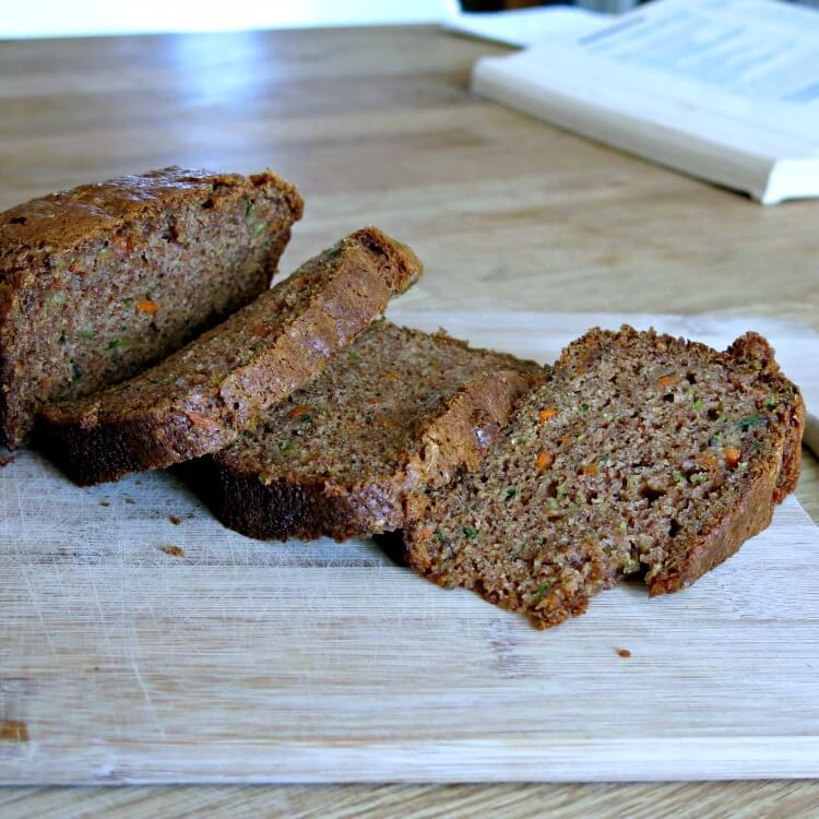 Back to School: Vegan Zucchini Carrot Bread