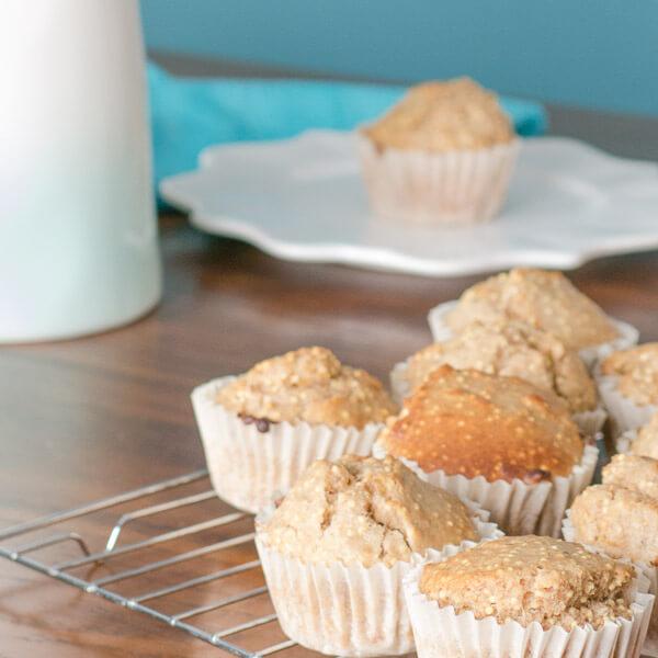 Millet and Oat Muffins | www.infinebalance.com #vegan #breakfast