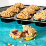 Peanut Butter and Jelly Muffins | www.infinebalance.com #muffin #recipe