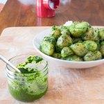 Potatoes in Classic Green Chutney   www.infinebalance.com #recipe #vegan