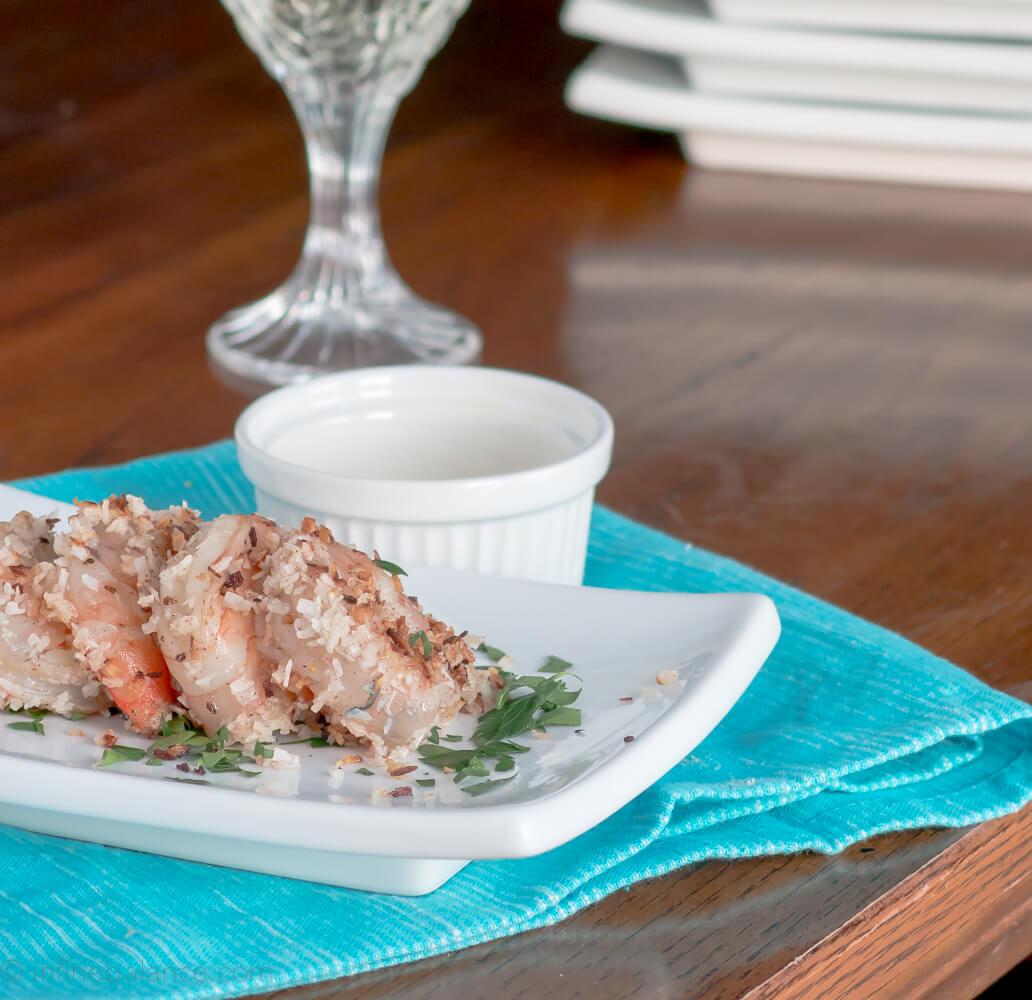 Coconut Jerk Shrimp