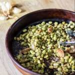 Oven Roasted Lima Beans with Garlic | www.infinebalance.com #vegan #recipe