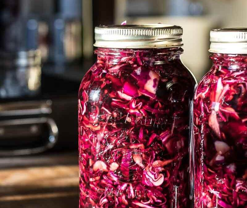 How to make Pickled Red Cabbage