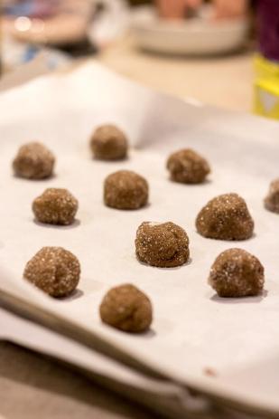 Ginger Molasses Cookies | www.infinebalance.com #recipe