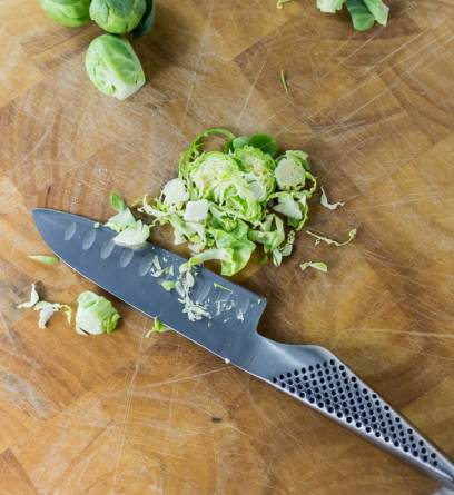 Shaved Shaved Brussels Sprout and Cranberry Salad   www.infinebalance.comHoliday Shaved Brussels Sprout Salad   www.infinebalance.com