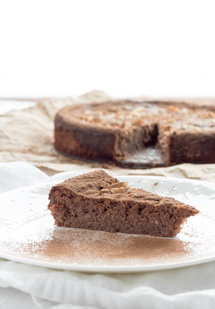 chocolate ricotta cheese cake
