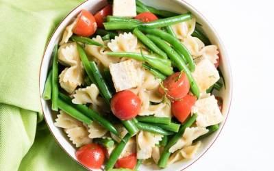 Summer Pasta Salad with Tofu