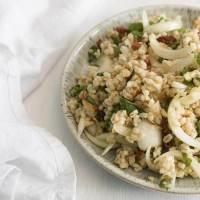 Barley Salad with Sweet Onions + Sundried Tomatoes