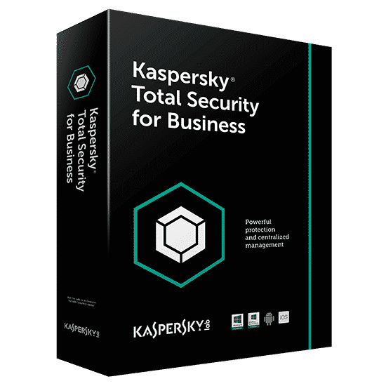Kaspersky Endpoint Total Security For Business 1 File Server + 20 Pc Por 1 Año