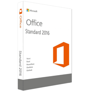 Microsoft Office Standard 2016 Para 1 Pc Licencia Retail - MFR # 021-10554