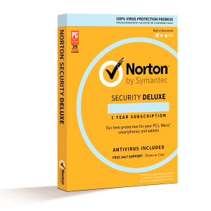 Antivirus Norton Security Deluxe Por 1 Año Para 3 Pcs MFR # 37648376464-2-1-1-5