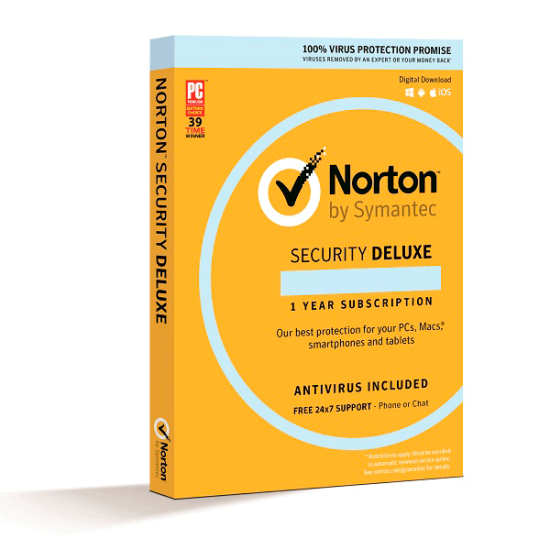 Antivirus Norton Security Deluxe