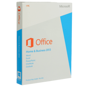 Microsoft Home and Business 2013 Para 1Pc Licencia Retail MFR # T5D-01575