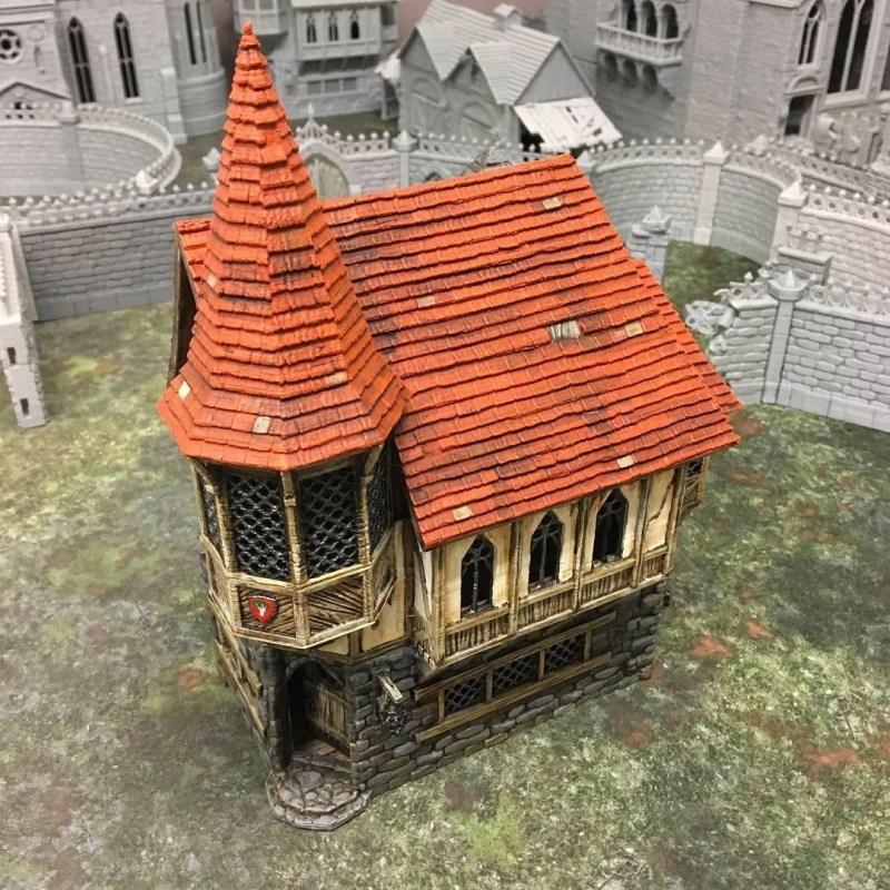 3d printed medieval house