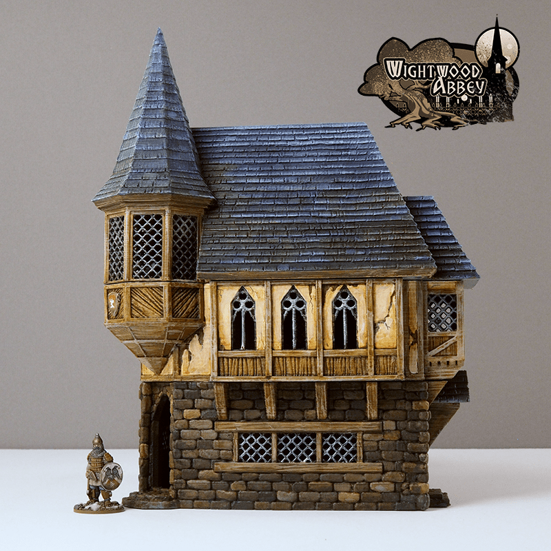 3D printed fantasy house