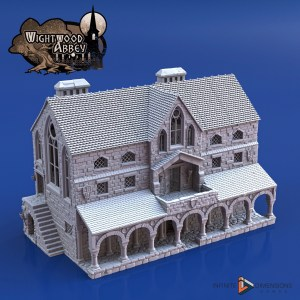 3D printable medieval scriptorium