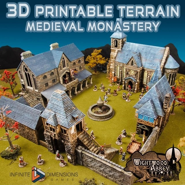 photograph regarding 3d Printable Terrain titled 3D printable terrain for tabletop video games - Countless