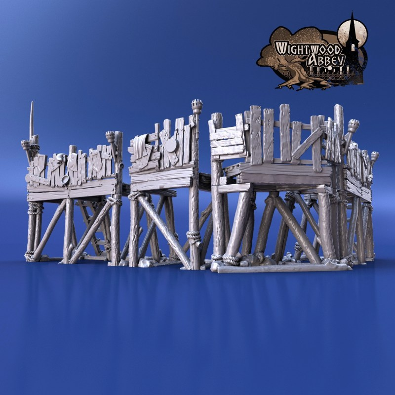3D printable Defence Gantries