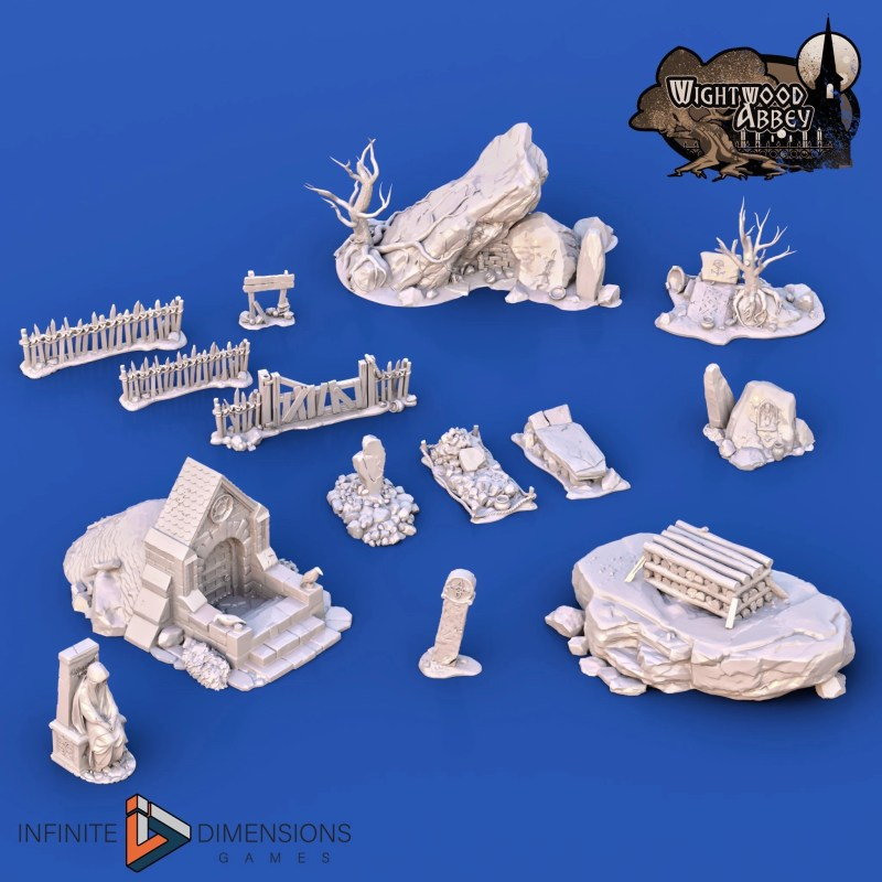 3D printable ancient cemetery