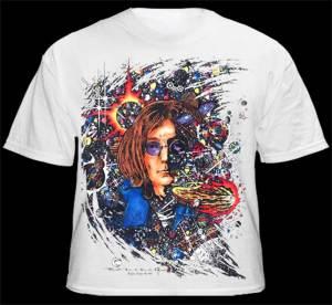 Number 9 - White Inspired by John Lennon Men's T-shirt