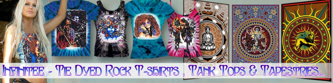 About Infinitee Art Rock T-shirts
