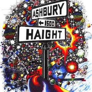 Haight Ashbury Sticker