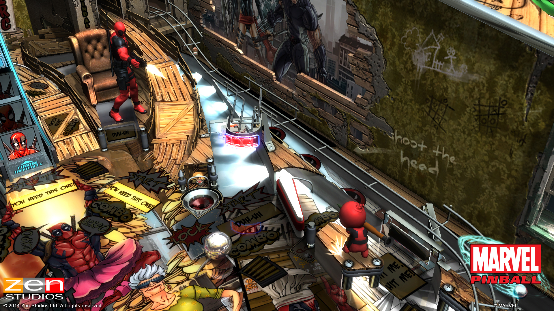 Zen Pinball 2 Deadpool PS Vita 02
