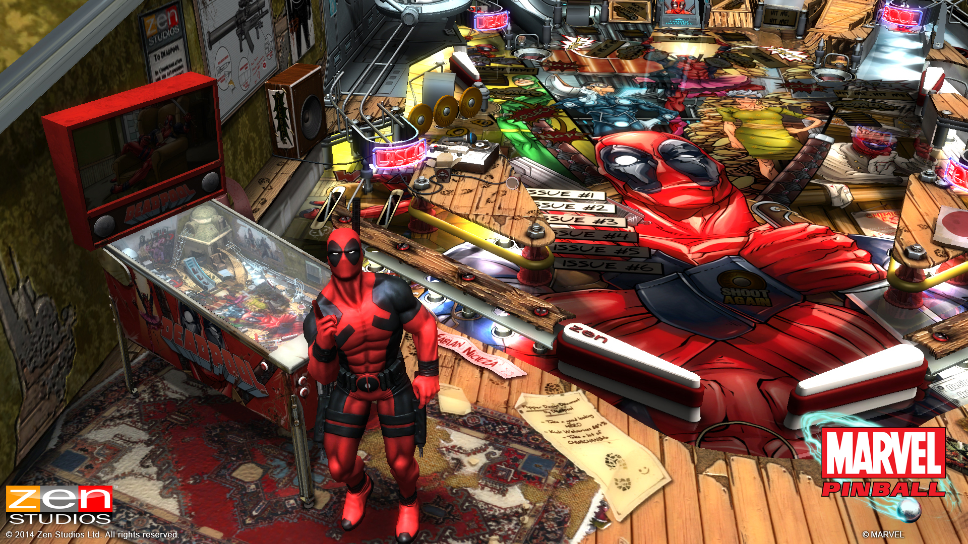 Zen Pinball 2 Deadpool PS Vita 03