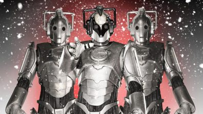 """""""The Next Doctor"""" saw the last appearance of Cybus Cybermen - perhaps bits of these guys were found by Cybermen of our universe?"""