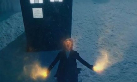Snow sprinkled regeneration for Peter Capaldi?