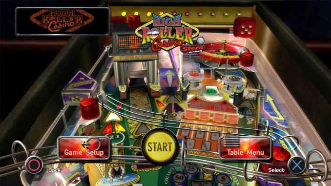 Pinball Arcade - High Roller Casino