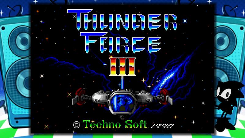 Thunder Force III SEGA Mega Drive Mini
