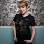 on cute Threadless model