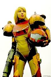 samus cosplay