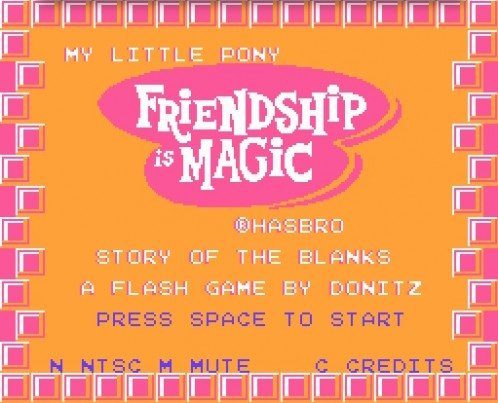 My Little Pony: Friendship is Magic! in the Story of the Blanks
