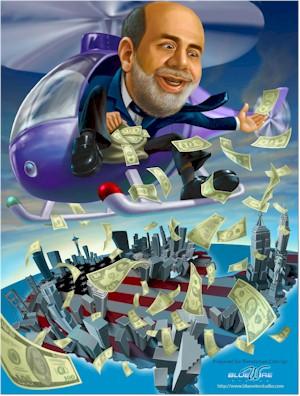 Helicopter Ben Bernanke