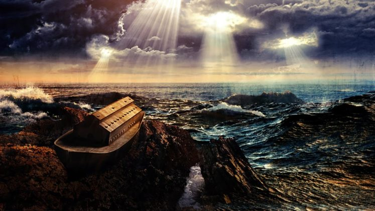 """Noah's """"Alien Experiment"""" and the Universal Flood"""