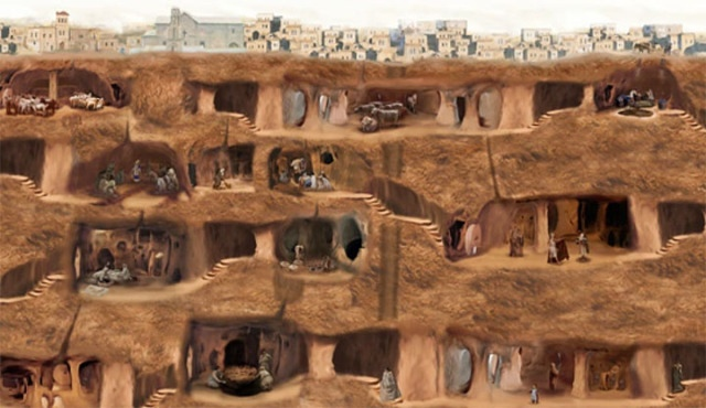 Derinkuyu- The largest undergroud city on the planet, an ancient refuge
