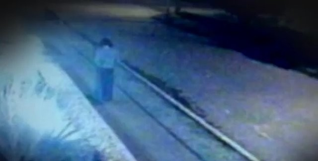 Cameras Filmed The Mystical Disappearance Of A Woman In Antique Clothes