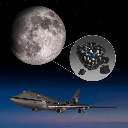NASA's SOFIA Has Discovered Water On The Moon